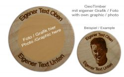 GeoTimber (own design) + your own text