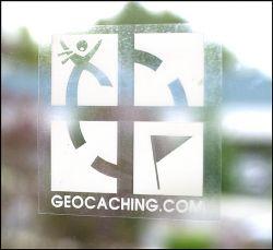 Geocaching.com Fenster Aufkleber Adh?sionsaufkleber (wieder abl?