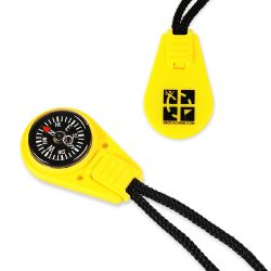 Geocaching Kompass  -GELB-