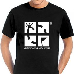 Geocaching T-Shirt | Geocaching.com black