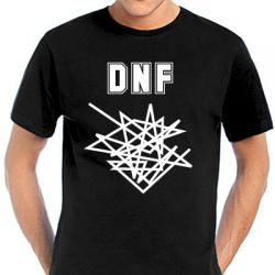 Geocaching T-Shirt | DNF Track black