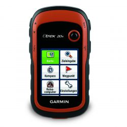 Garmin eTrex® 20x incl. Garmin TopoActive-Map (Western-Europe)