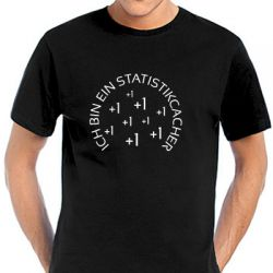 Geocaching T-Shirt | Statistikcacher black