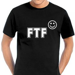 Geocaching T-Shirt | FTF Smile black