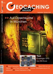 Geocaching Magazin 05/2012 September/Oktober