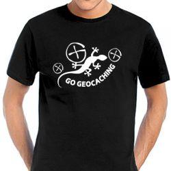 Geocaching T-Shirt | Gecko Geocaching in vielen Farben