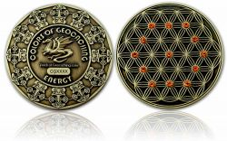 The Colors of Geocaching Geocoin -ENERGY- Antique Gold