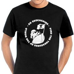 Geocaching T-Shirt | Signal the Pirate in vielen Farben