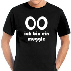 Geocaching T-Shirt | Ich bin ein Muggle black