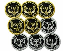 Geo Award Patch | 100 - 5000