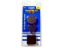 Magnet-Set | 30 Flexible Magnete für Hinweise