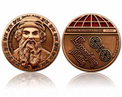 Mainz Geocoin Antique Copper LE