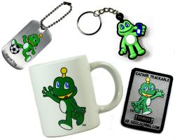 Geschenk Set Geocaching Signal The Frog