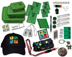 Gift Set Geocaching Kit Crystal