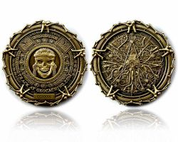Pirate Bones Antik Gold Geocoin