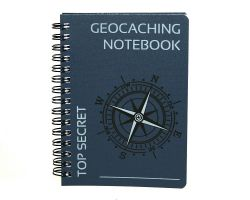 CacheQuarter Geocaching Notebook A6 blue