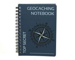 Cachequarter Original Geocaching A6 Notizbuch blau