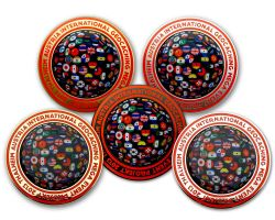 Projekt Twenty Thirteen Event Geocoin SET (5 COINS)