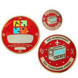 Geo Achievement Award Set 10.000 inkl. Pin