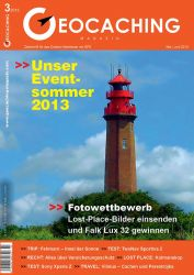 Geocaching Magazin 03/2013 Mai/Juni