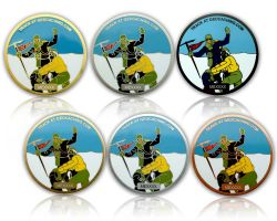 Mount Everest Geocoin Sammler SET (6 COINS)