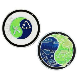 Groundspeak Cache In Trash Out (CITO) Geocoin 2013