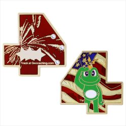 4th of July Geocoin Special Edition
