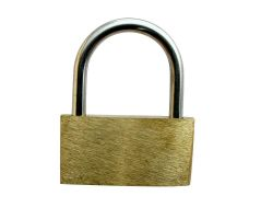 Brass Padlock (incl. 3 keys)