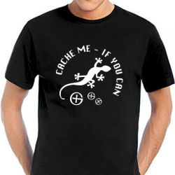 Geocaching T-Shirt | Cache Me If You Can - viele Farben