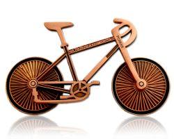 Fahrrad Geocoin Antik Kupfer (funktional)