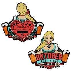 Groundspeak Oktoberfest Geocoin (Christy)