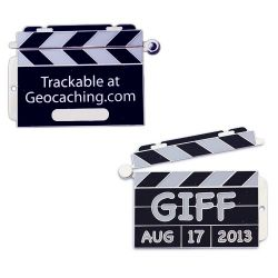 Groundspeak Limited Edition GIFF Geocoin Set inkl TAG
