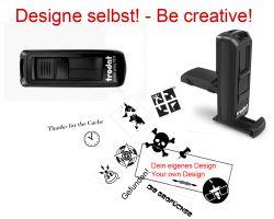 Geocaching Stempel mit Deinem Design - PrintyMobile 38 x 14