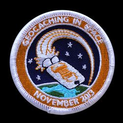 Geocaching in Space Mission Patch