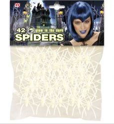 small spiders - Glow in the Dark (42 pcs)