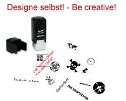 Geocaching Stempel mit Deinem Design - PrintyPocket 12 x 12