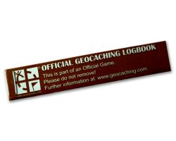ECO 800 Geocaching.com PETl Logbook (1 piece)