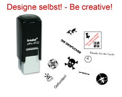 Geocaching Stamp with your Design - Printy 20 x 20