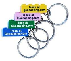 Geocaching.com LEGO ™ Schl?sselanh?nger trackbar