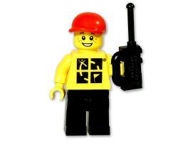 Geocaching.com LEGO ™ Figur trackbar Mann