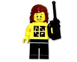 Geocaching.com LEGO ™ Figur trackbar Frau