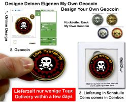 My Own Geocoin - Easy Online Designer