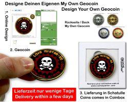 My Own Geocoin - Jetzt Kinderleicht Online Gestalten