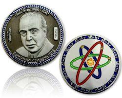 Atommodell Niels Bohr Geocoin Black/Silber XLE 75