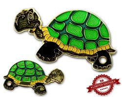 GeoTurtle Geocoin - Erna the Resolute XLE 50