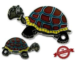 GeoTurtle Geocoin - Emil the Eager XLE 50