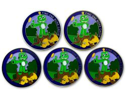 Heads and Tails Geocoin Sammler SET (5 COINS)