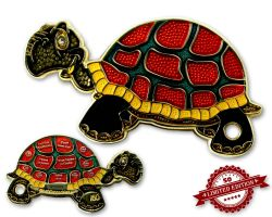 GeoTurtle Geocoin - Carla the Brave XLE 50