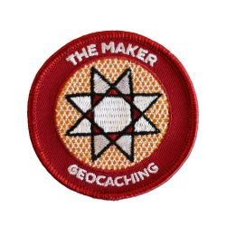 Geocaching.com Maker Madness Patch