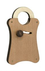 Wooden Puzzle Lock